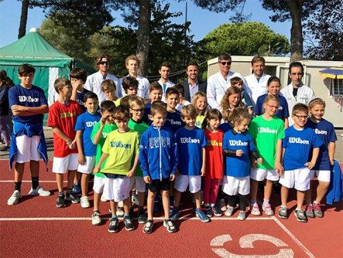 Un grande momento per la scuola del Circolo Tennis Cervia