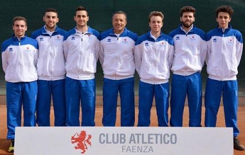 Domenica parte la serie C maschile di Tennis