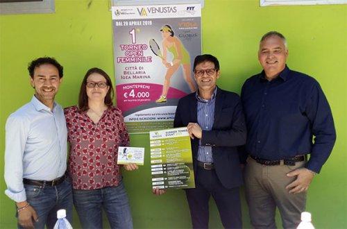 Presentata la seconda edizione del torneo Open femminile del Ct Venustas di Igea Marina