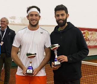 Federico Bertuccioli vince il doppio nel torneo open BNL di Rivoli torinese