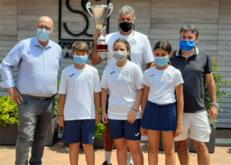 Il Circolo Tennis Reggio Emilia campione regionale femminile Under 12