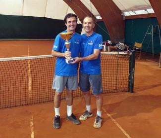 il Circolo Tennis Cervia vince il campionato regionale Over 55