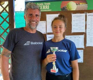 Sara Gaia Totorizzo vince il torneo under 14 del CT Cerri Cattolica