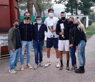 Alessandro Pecci si aggiudica il titolo nell'Open del Ct Cervia