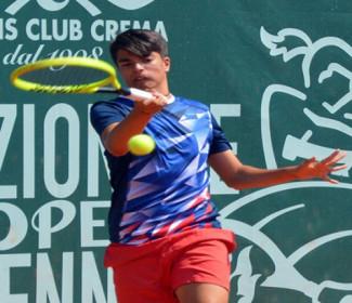Per Ivan La Cava esordio vincente nel tabellone principale del Lago di garda junior open ITF