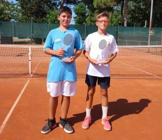 Doppietta Ct Cervia nel torneo giovanile del Ct Venustas