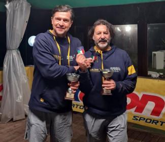 Paolo Pambianco e Corrado Badalucco vincono il titolo tricolore nel doppio Over 50 indoor