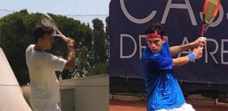 Alessandro Pecci (n.1) ed Alberto Morolli (n.2) di fronte per il titolo nell'Open del Ct Cervia