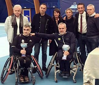 A Massa Lombarda la prima tappa regionale del torneo di tennis in carrozzina