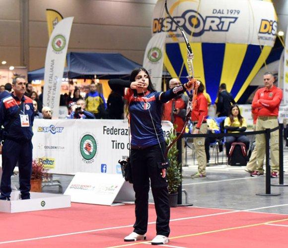 Conclusi i campionati italiani indoor di tiro con l'arco