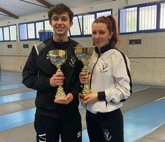 Matilde Dondi e Guglielmo Zardi conquistano la medaglia d'oro nel  Torneo Emilia Romagna 2021