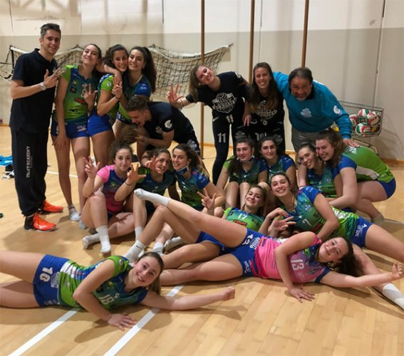 Under19 - Wimore Sinergy Calerno - ITAS Volley Academy Piacenza 0-3 (22-25; 17-25; 20-25)
