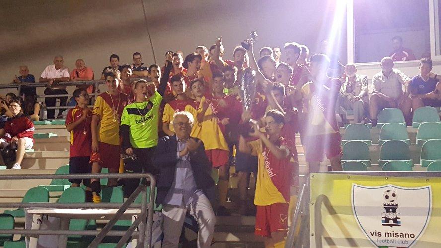 Torneo Umberto Nanni, Misano cup 2018 per allievi: trionfa la Sammaurese