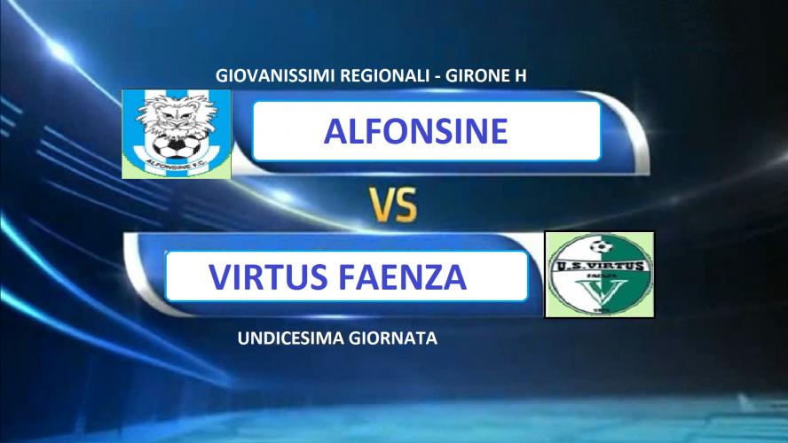 Alfonsine vs Virtus faenza 1 - 2
