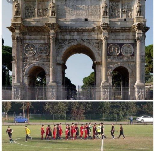 La Trebbia, la garra, e l'Arco di Trionfo