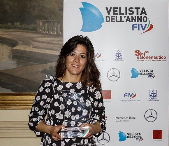 Claudia Rossi insignita della Medaglia di Bronzo al Valore Atletico per i risultati sportivi del 2017