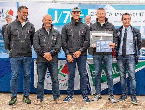 J/70 Cup - Ancona Marina Dorica - Allerta meteo e nessuna regata nella giornata conclusiva