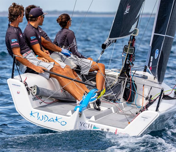 Melges 20 World League, finale perfetto per Kindako a Scarlino