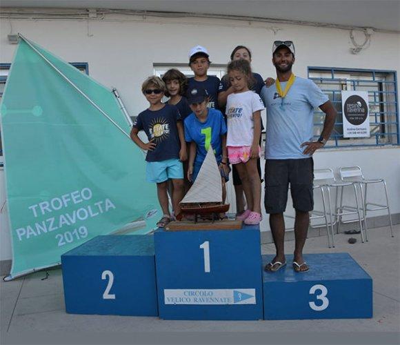 """La scuola vela dello yacht club rimini  vince il trofeo Panzavolta"""""""