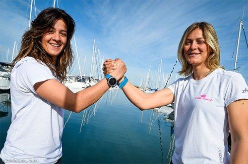 World Cup Series - Erica Ratti e Claudia Rossi a Genova per la prima regata di stagione