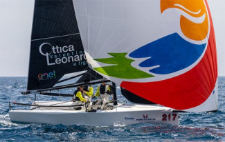 Melges 20 World League - Act 2 - Vento leggero e tre regate a Puntaldia