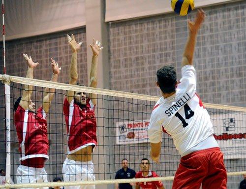 Volley Game Falconara vs Rovelli Morciano 2-3  (25-23/25-22/21-25/14-25/13-15)
