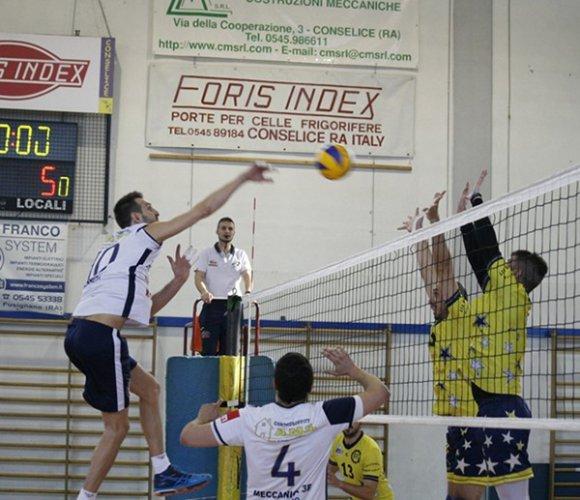 Foris Index Cm Conselice-Modena Est 1-3 (18-25, 25-21, 17-25, 16-25)