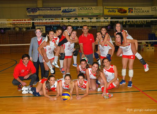 Flamigni Panettoe/Kelematica - Volley Team Bologna Rossa 3-0 (21-10-14)