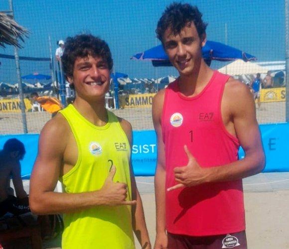 Beach Volley, Perini-Casali e Arienti-Benvenuti a Cervia