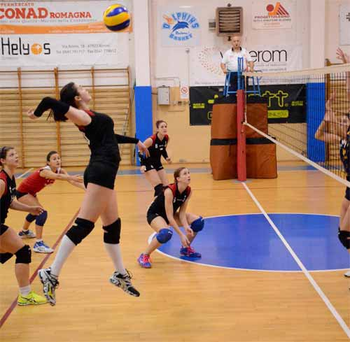 Volley Riccione - My Mech Cervia 3-1