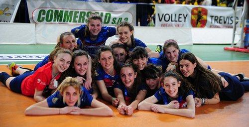 L'under 16 femminile Anderlini vola alla final four regionale
