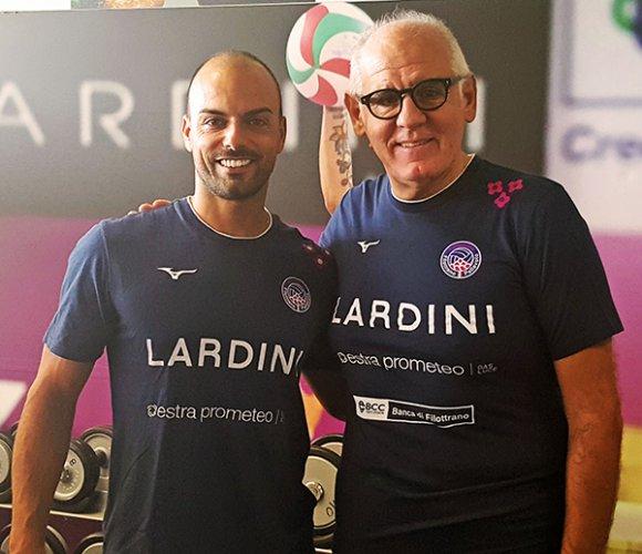 La Lardini completa lo staff con il preparatore fisico Daniele Marchetti e il fisioterapista Giuseppe Pigliacampo