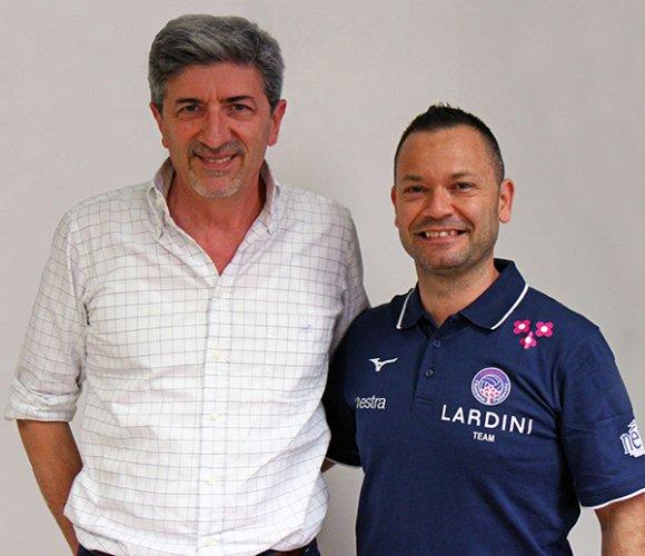 Lardini, Luca Chiappini è il nuovo allenatore