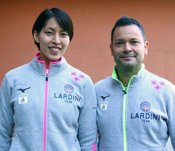 Lardini, Koyomi Tominaga arrivata Filottrano