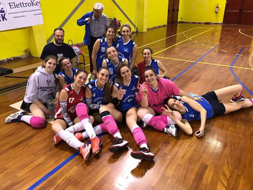 Rubierese vs Mineraria di Boca Magreta volley 2-3 (27-25 23-25 25-22 19-25 10-15)