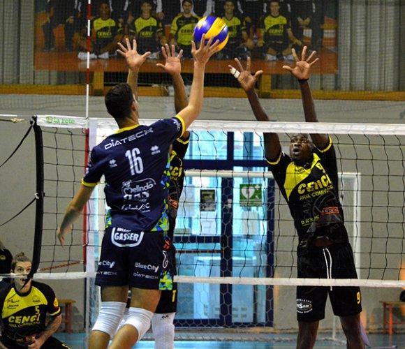 Canottieri Ongina vs Itas Trentino 1-3 (26-24, 20-25, 19-25, 20-25)
