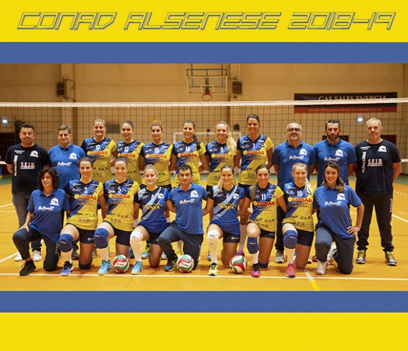 Conad Alsenese - PSA Olympia Genova 2-3 (25-21, 18-25, 15-25, 25-20, 14-16)