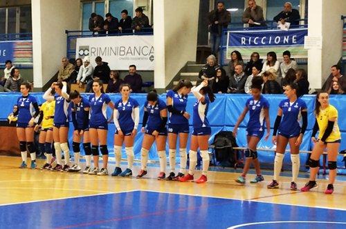 Riccione Volley - Volley Castello Bo 0-3 (25-27/17-25/18-25)