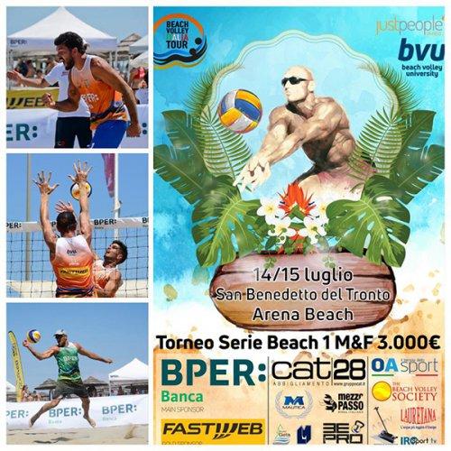 BPER Banca Beach Volley Tour: San Benedetto del Tronto pronto ad accogliere le stelle della terza tappa