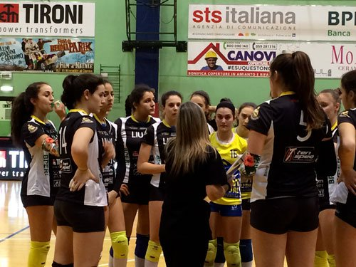 Liu Jo Tironi-Energy Volley Parma: 3-1 (19-25/25-21/35-33/25-23)