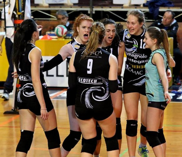 Volley Club Cesena-Sassuolo 0-3 (17-25, 19-25, 22-25)
