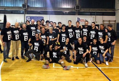 Volley Club Cesena festeggia la promozione
