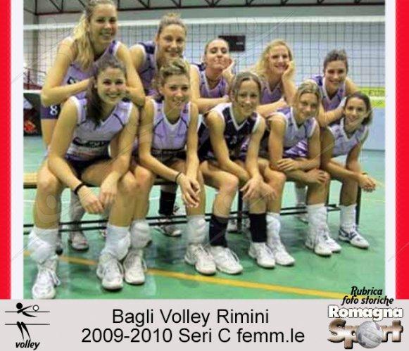 FOTO STORICHE - Bagli Volley Rimini 2009-10