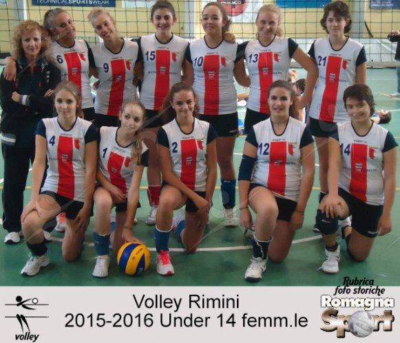 FOTO STORICHE - Vollley Rimini 2015-16