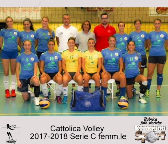 FOTO STORICHE - Cattolica Volley 2017-18