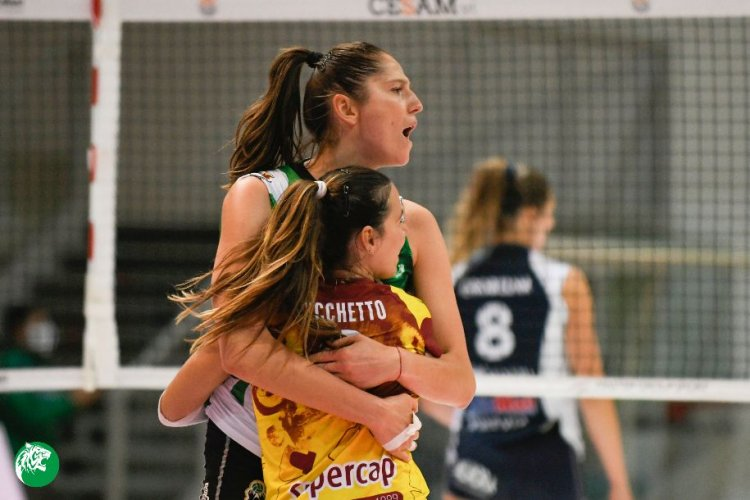 Megabox Volley Vallefoglia , tre punti d'oro contro un'avversaria di livello