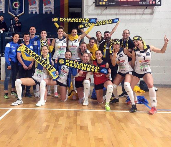 Igor Volley Trecate vs Conad Alsenese 2-3
