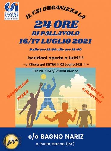 Il Csi Ravenna vara la 24ore di pallavolo
