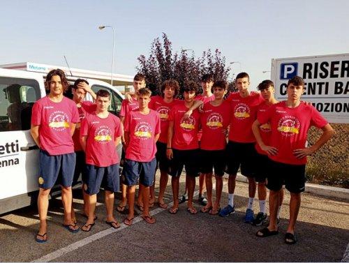 La Consar under 17 insegue in Puglia il sogno scudetto