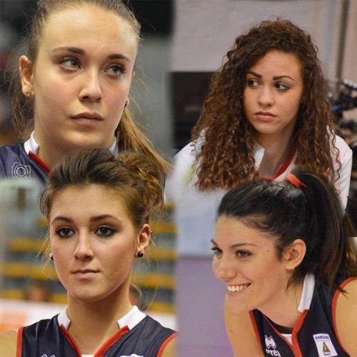 Volley Pesaro saluta Gamba, Pamio, Rimoldi e Tonello